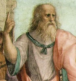 "Is there One Good? Is Good up? (""Plato"" by Raphael)"